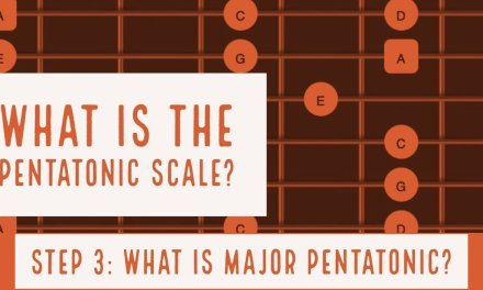What is a Pentatonic Scale Part 3 |  Major Pentatonic Scale  | All 5 Positions