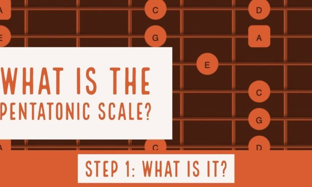 What is a Pentatonic Scale?    Part 1   Steve Stine Guitar Lesson