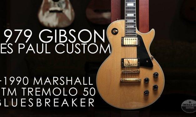 """Pick of the Day"" – 1979 Gibson Les Paul Custom and 1990 Marshall JTM Tremolo 50 Bluesbreaker"