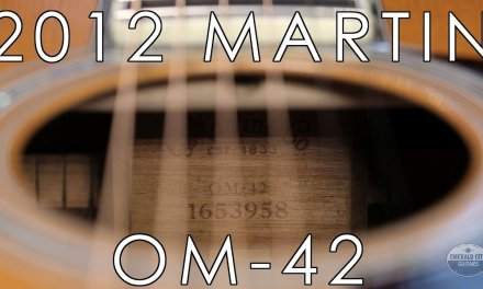 """""""Pick of the Day"""" – 2012 Martin OM-42"""
