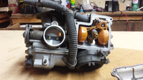 small resolution of honda shadow v twin carb clean blog for gearheads like you honda motorcycle carb diagrams further honda shadow 600 carburetor