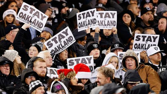 The Raiders moving to Vegas is a symptom of a much larger disease