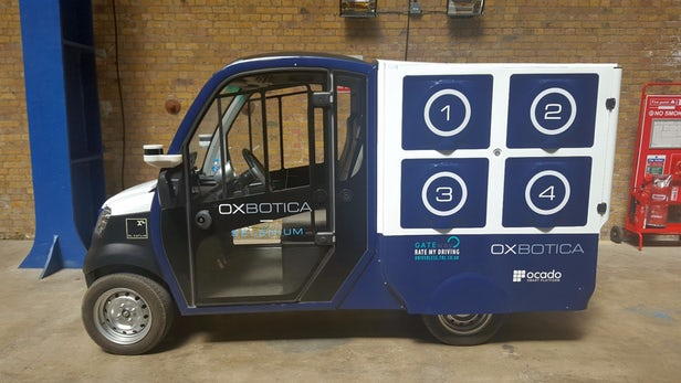 Oxford tests its own autonomous delivery truck