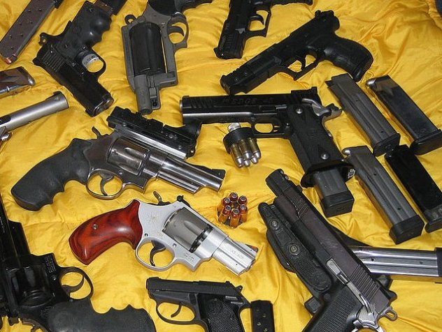 Close to 30,000 guns were for sale on Armslist requiring no background check