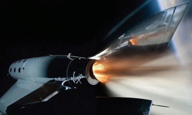 Virgin Galactic launches 2nd manned commercial space flight