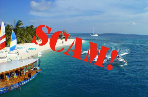 Scam strikes vacation sites!