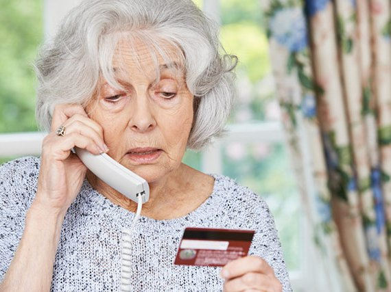 Help protect seniors from scams