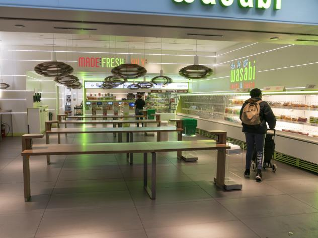 Stores implementing new social distancing rules