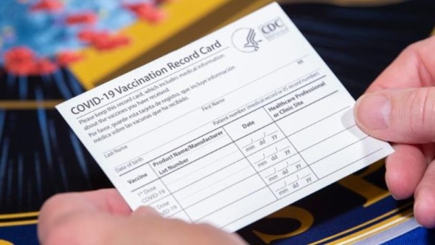 Fake vaccine cards are showing up online