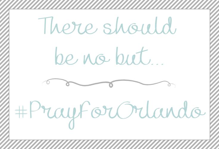 There should be no but.., #PrayforOrlando