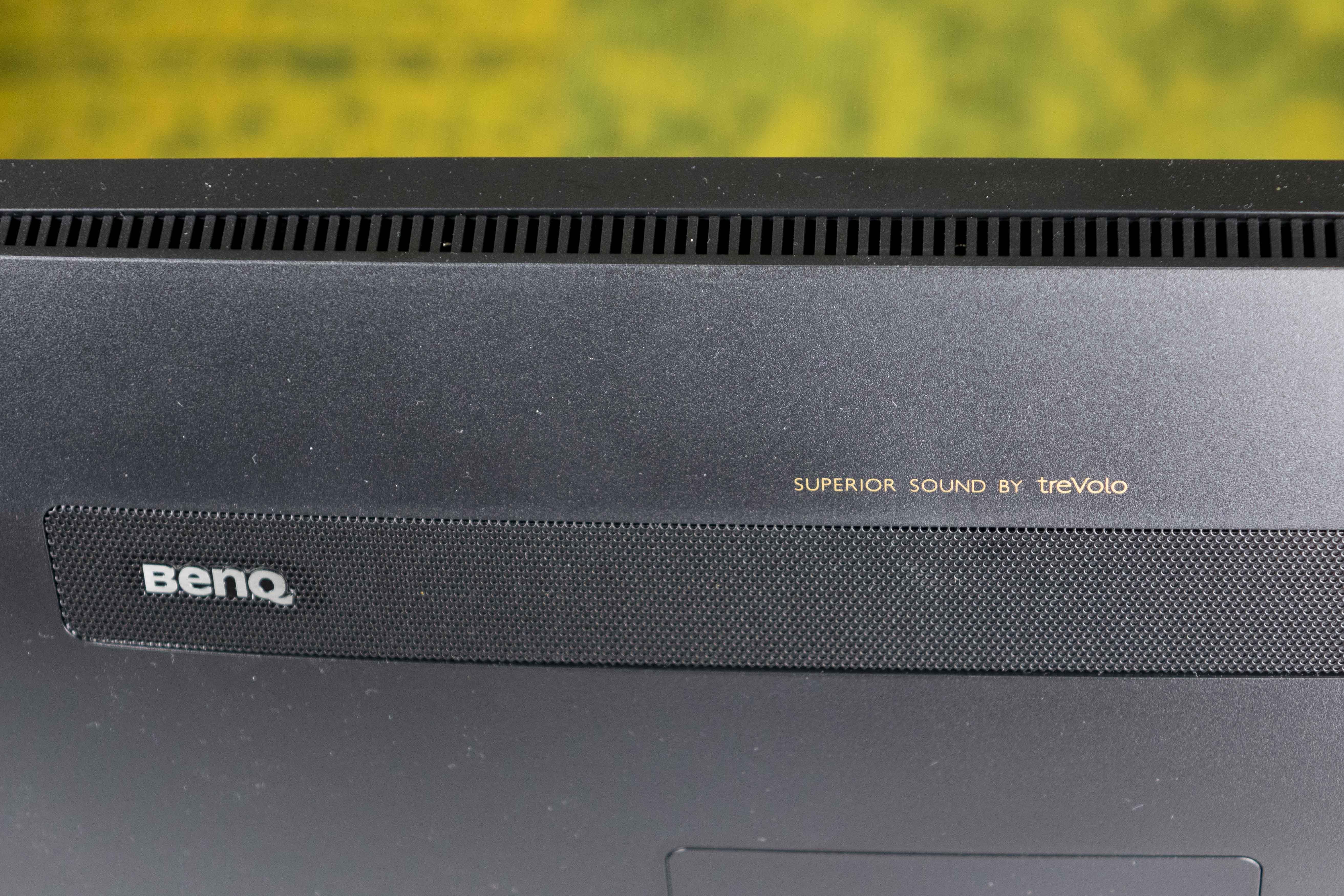 Rückseite (Detailansicht) des EX2780Q