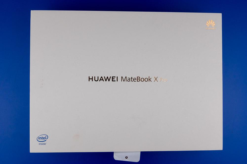 Die Verpackung des MateBook X Pro: Understatement pur