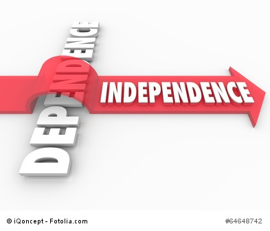 Indepedence Arrow Over Dependent Self-Reliance Determination