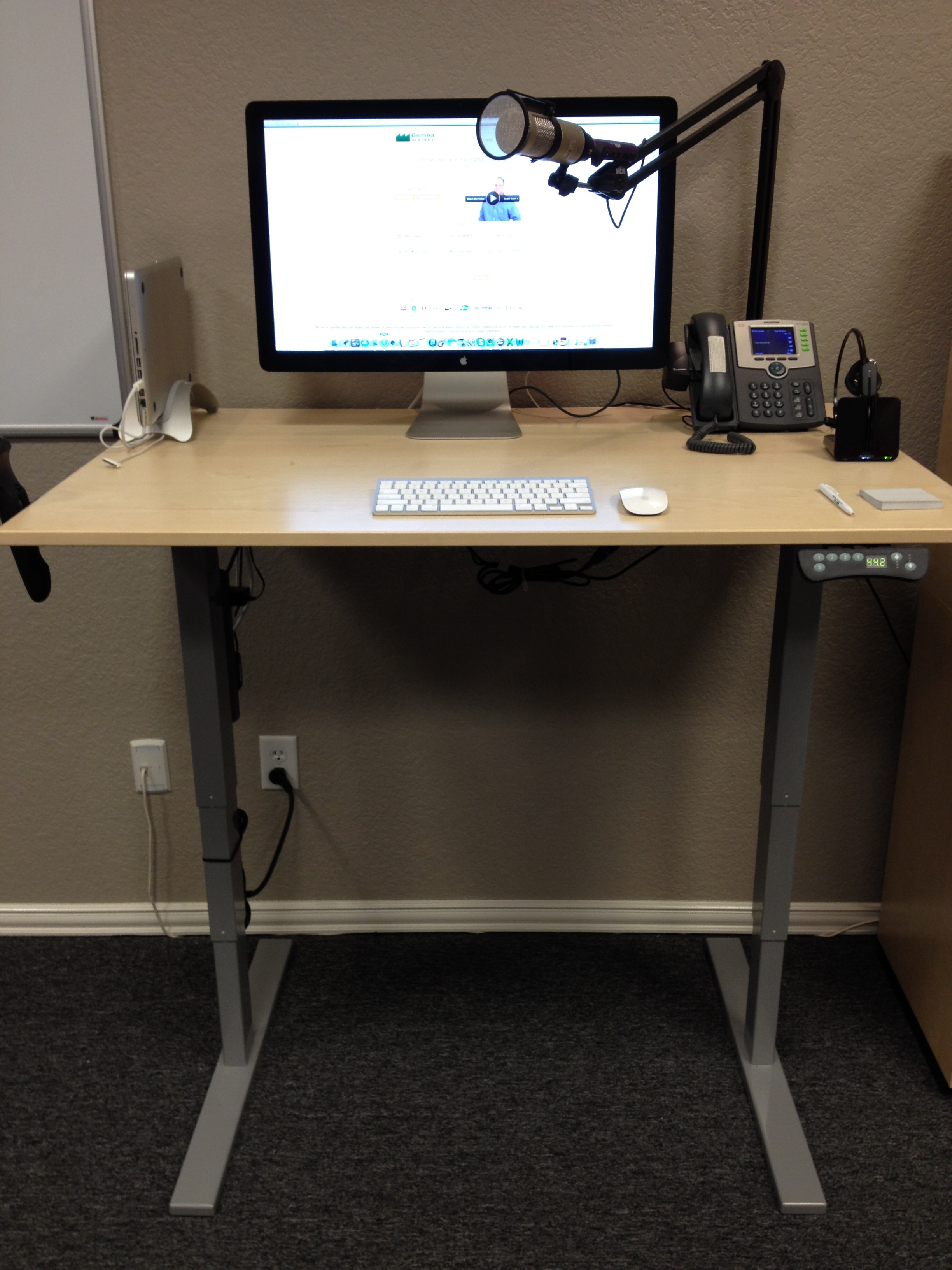 My Newest Stand Up Desk  Gemba Academy