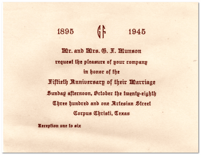 25th Marriage Anniversary Invitation Letter Wedding