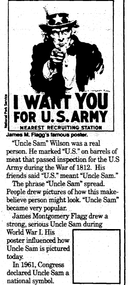 Your Uncle, My Uncle, Every American's Uncle: Uncle Sam!