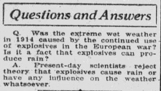 Fun & Fascinating Q&As from 100 Years Ago