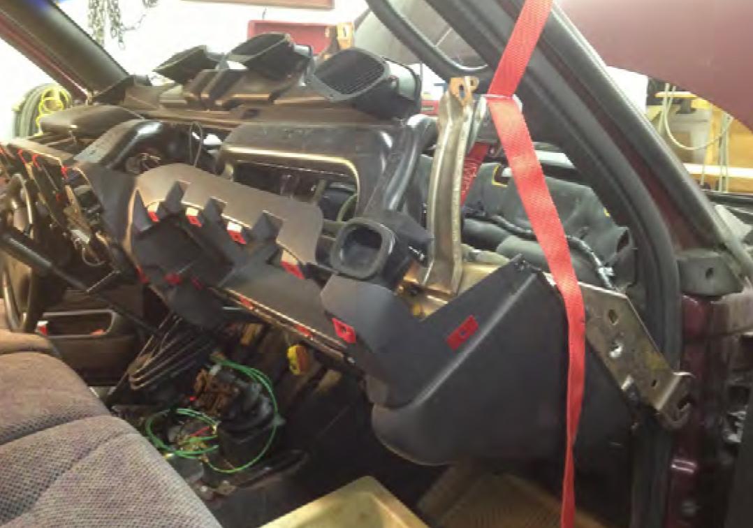 Dodge Ram 2500 Dash Removal