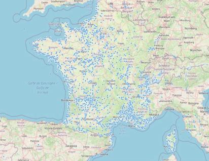 Carte locations de vacances gens de confiance