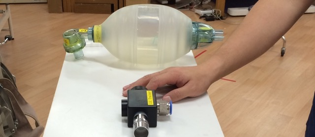 呼吸機能のリハビリテーション器具