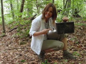 Woman Found Geocache