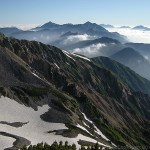 快晴の薬師岳山頂~薬師岳(2)