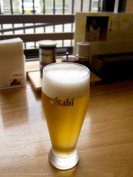 171007東部ふれあい館でビール
