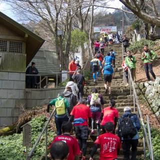 180311 大山登山マラソンゴール