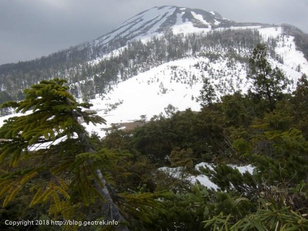 180505 熊沢田代に燧岳