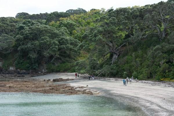 ティリティリマタンギ・アイランド、Hobbs beach
