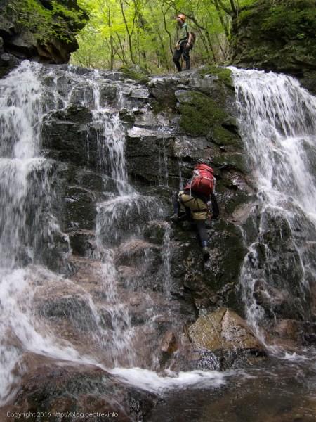 160730竜喰谷・滝がたくさん
