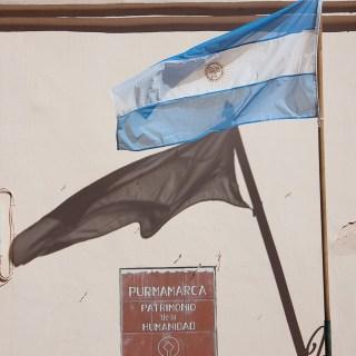 130830プルママルカ、アルゼンチンの旗