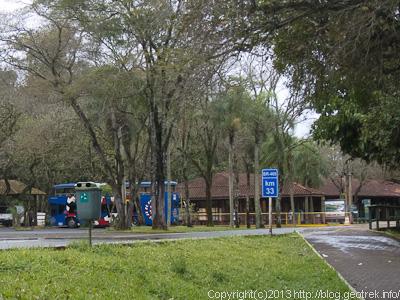 130826イグアス国立公園バス停