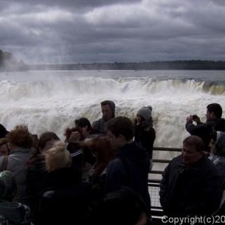 130827イグアスの滝・悪魔ののど笛展望台