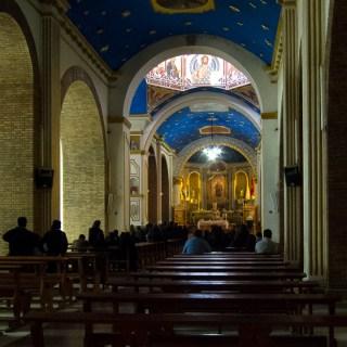 130906ボリビア、オルロのソカボン教会のミサ
