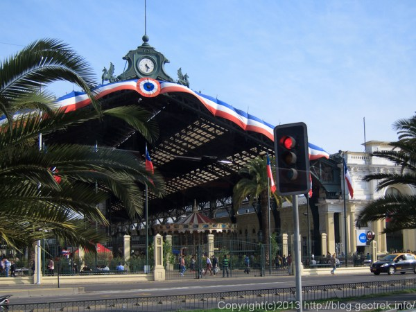 130910チリ、サンティアゴ中央駅
