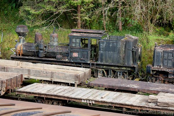 120310阿里山・阿里山駅の蒸気機関車