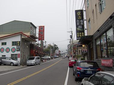 120311関子嶺温泉・上の温泉街
