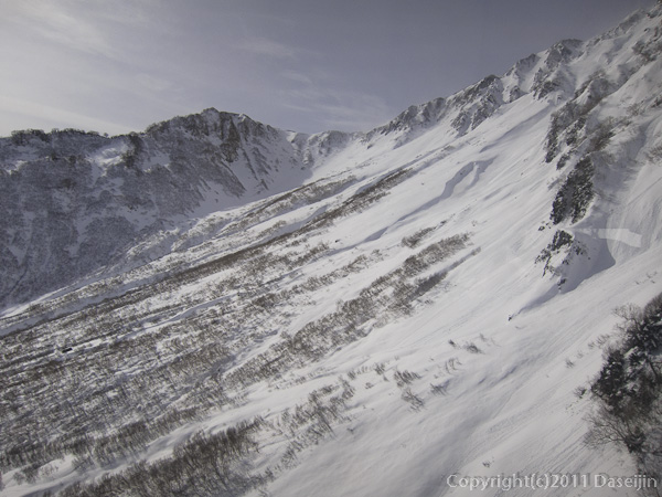 111127立山スキー・タンボ平