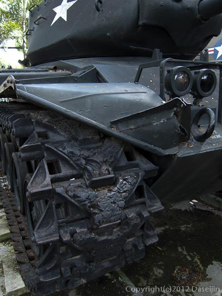 121117ベトナム・戦争証跡博物館の戦車