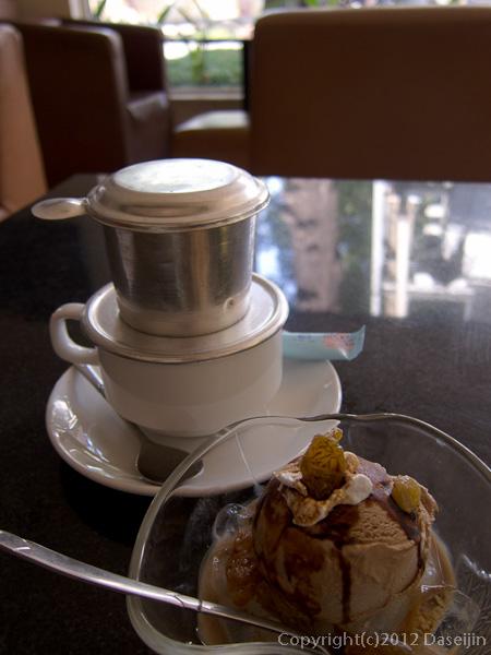 121117ベトナム・コーヒーとコーヒーアイス