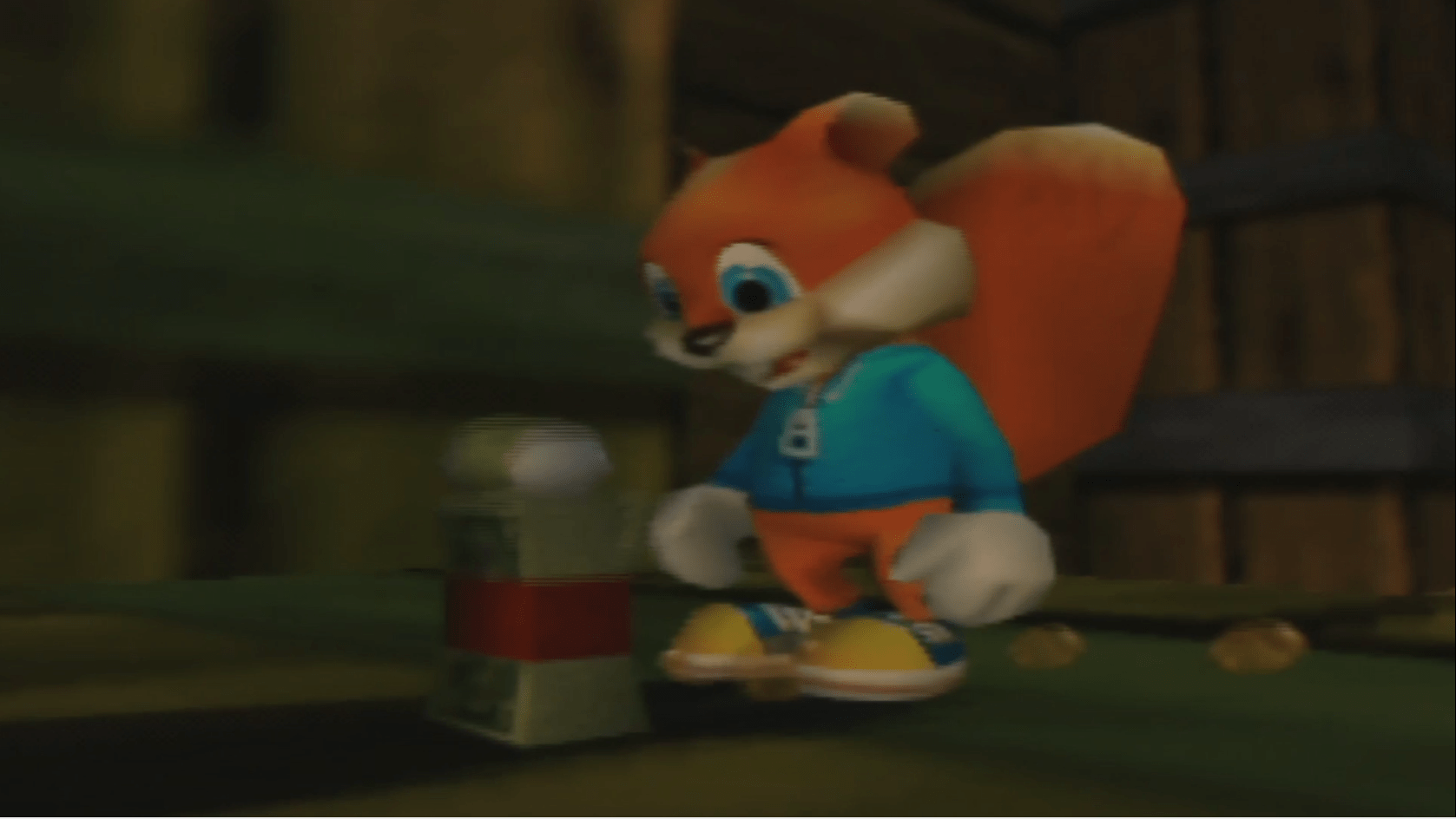 Conkers Bad Fur Day Bull Cash