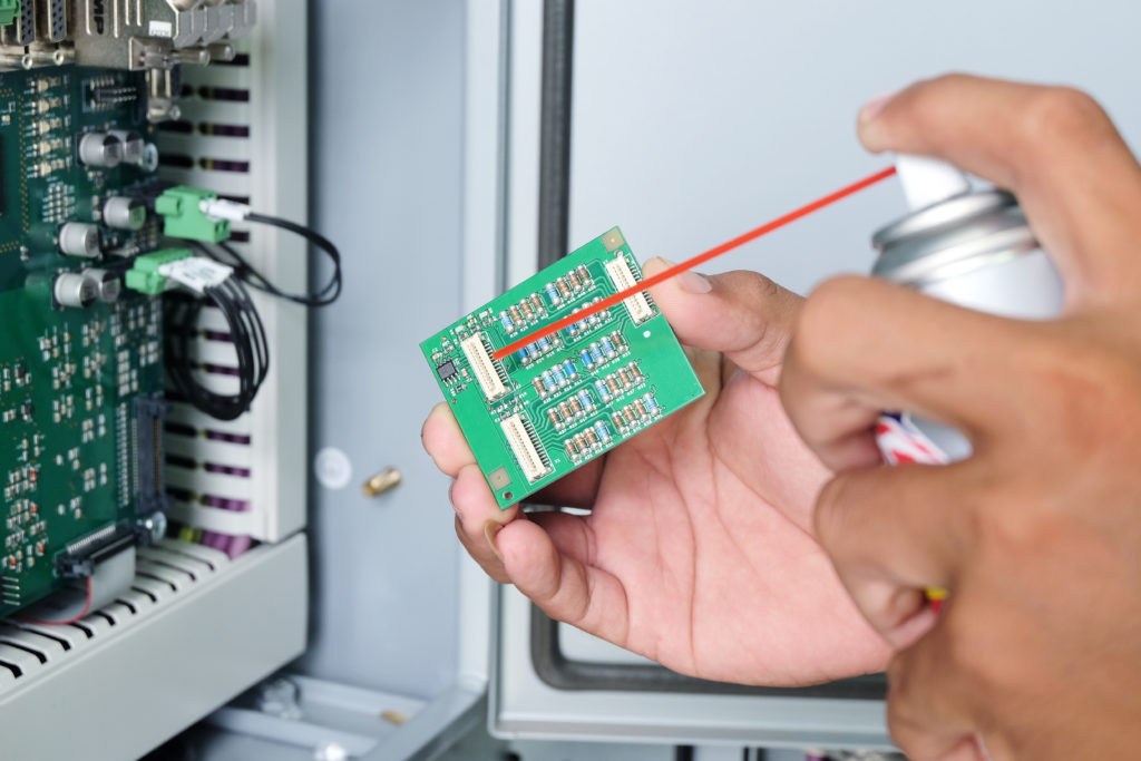 Cleaning Circuit Boards