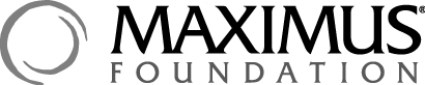MAXIMUS Foundation Logo