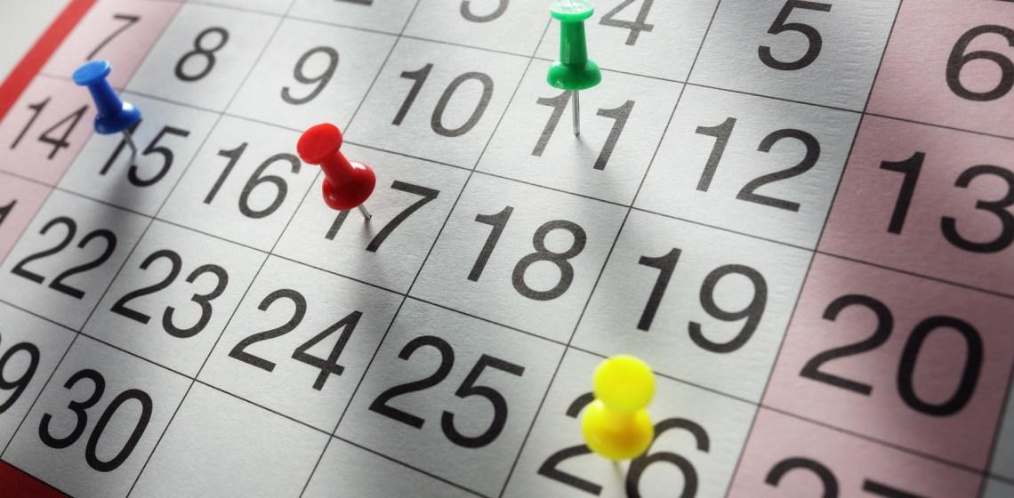 Planning a timeline