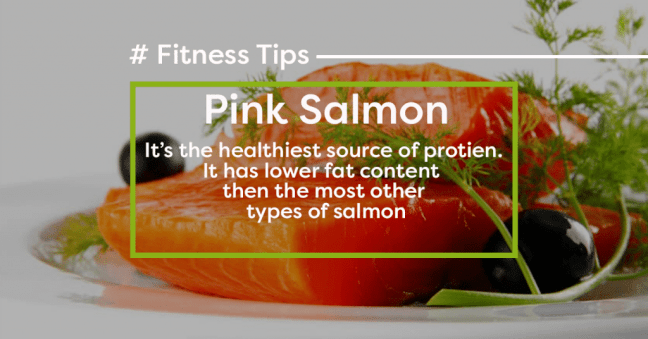 Pink Salmon - Rich source of protein - part of Virat Kohli Diet plan