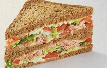 Healthy Tips and Recipes - Brown Bread Sandwich