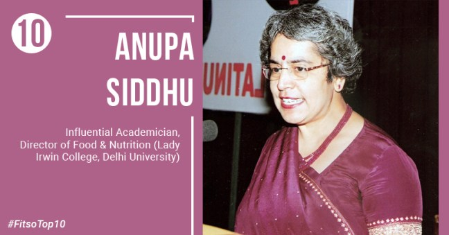 most influential dietitian in India