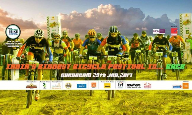 cycling events in delhi