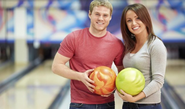 bowling couples - fitness dates
